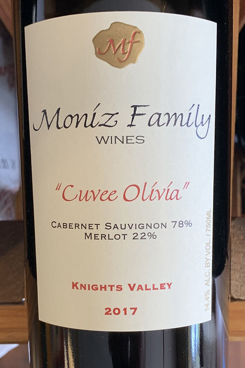 "2017 Moniz ""Cuvee Olivia"", Cabernet, Lodi"