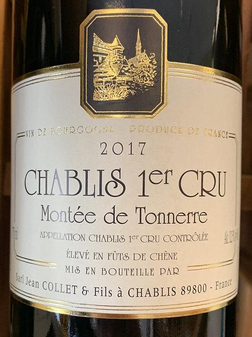 2017 Collet, Premier Cru Montee de Tonnerre, Chablis