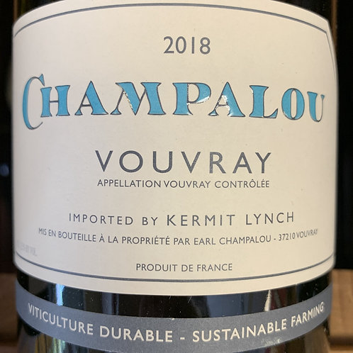 2018 Champalou, Vouvray
