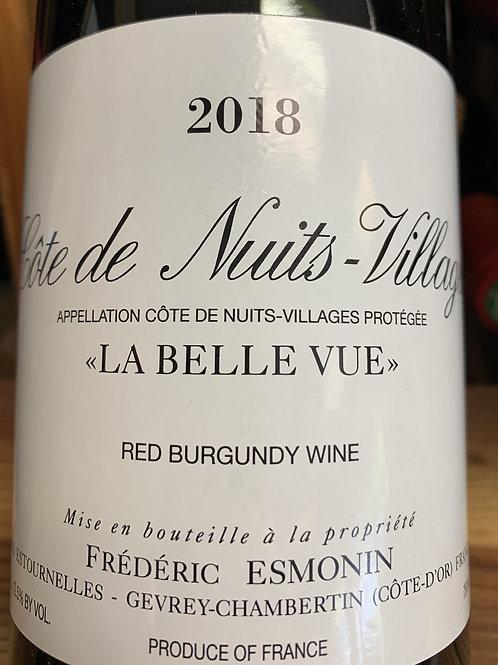 """2018 Frederic Esmonin """"La Belle Vue"""", Cotes de Nuits Village"""