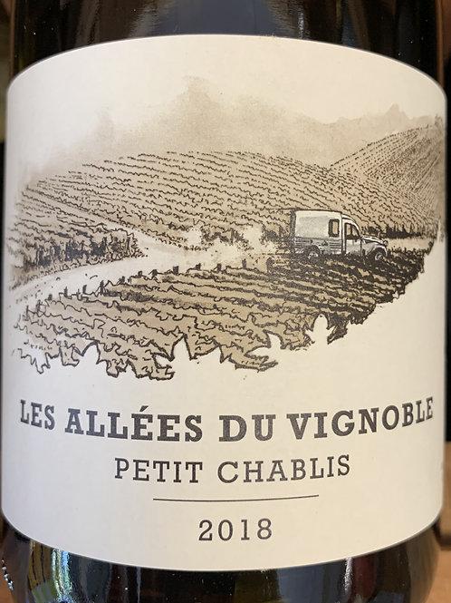 2018 Les Allees du Vignoble, Petit Chablis, Burgundy