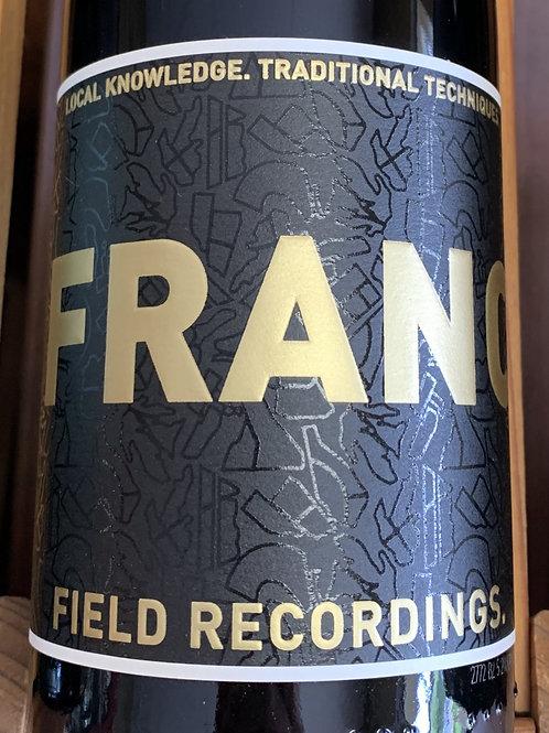 2018 Field Recordings, Cab Franc, Paso Robles