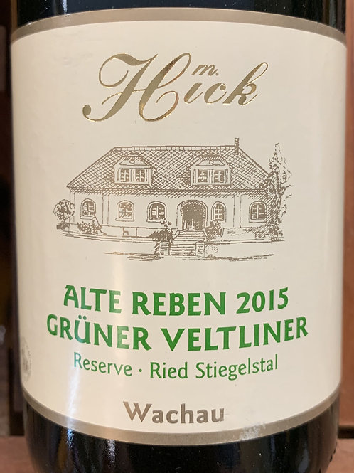 2015 Hick, Gruner Veltliner, Austria