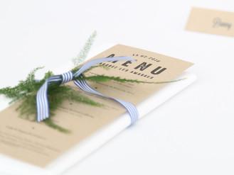 Wedding design en Bretagne : La marinière chic !