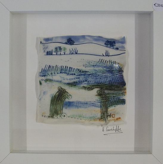 Ceramic Plaque - framed