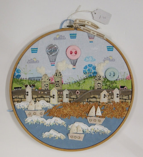 Stitched Embroidered Pictures