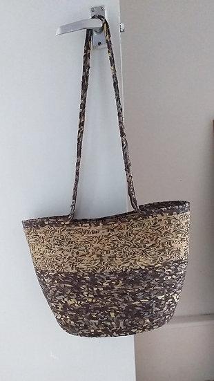 Bali Batik Tote Bag by Maxine Pigram