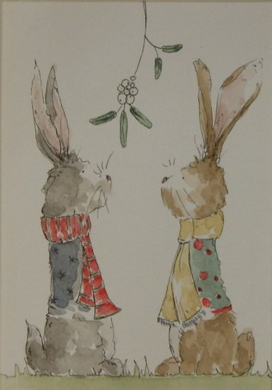 Mistletoe rabbits