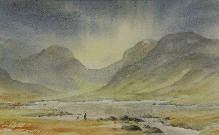Original Watercolour - framed