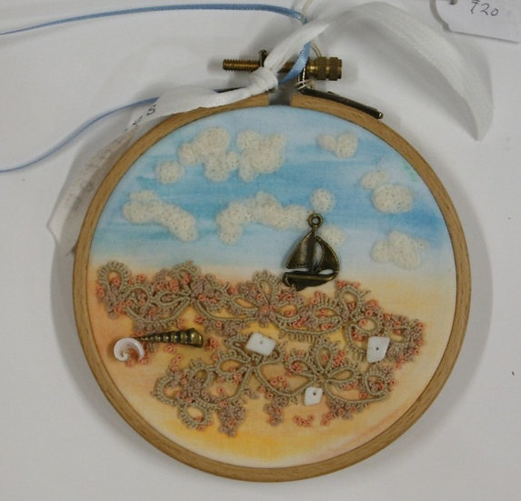 Stitched Embroidered Picture