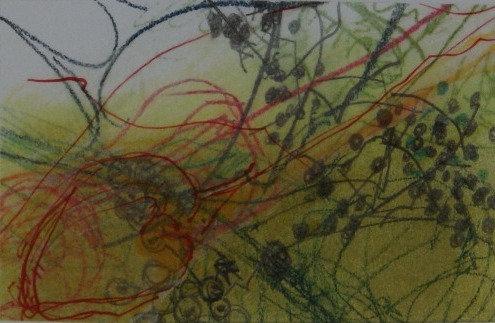 'Autumn Frills'  Framed original