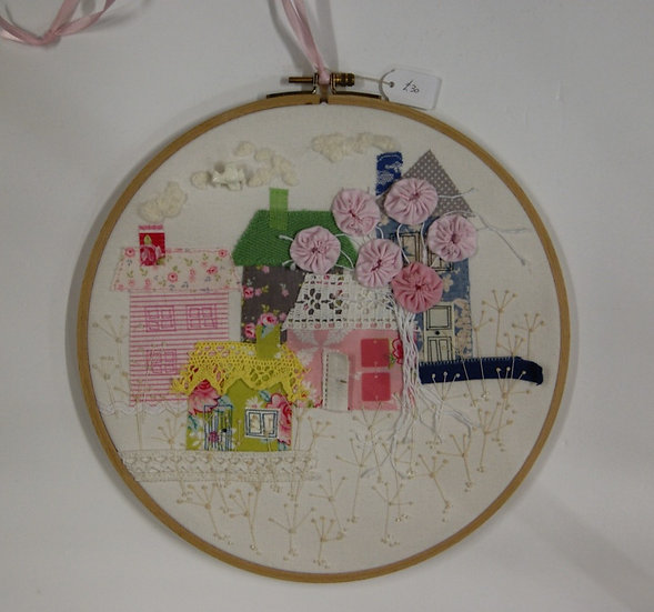 Embroided hoop