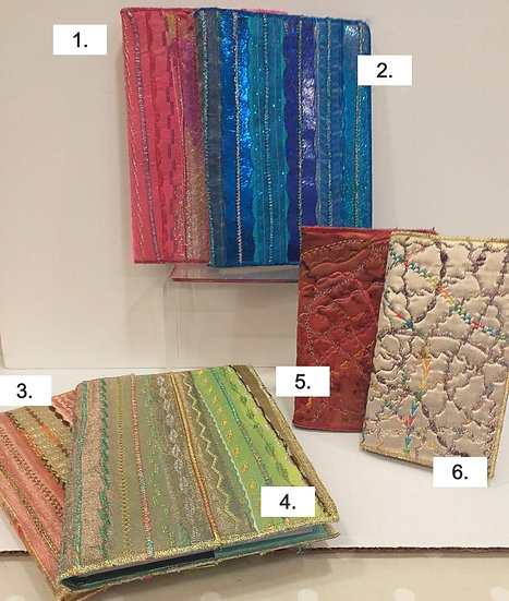 Textile Covered Notebooks