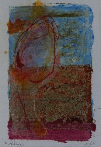 'Roseberry' Ink original