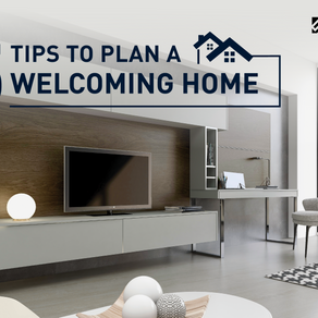 5 tips to plan a welcoming home