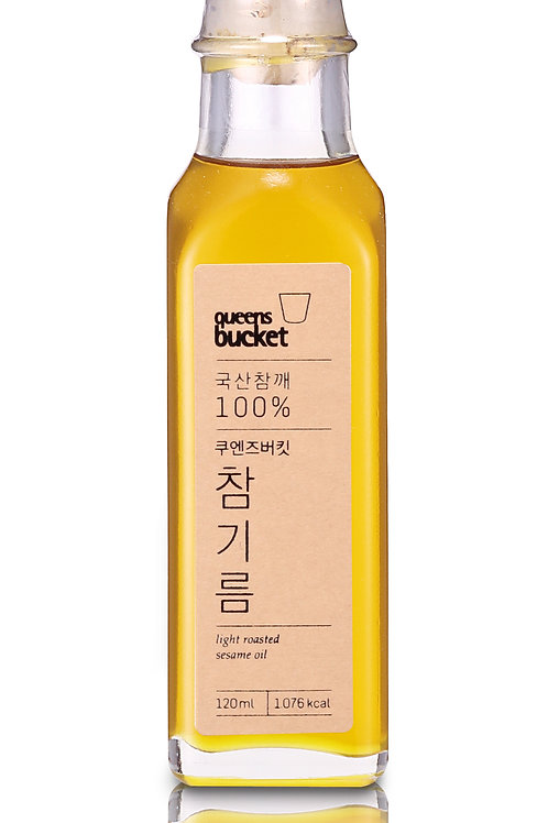 Light Roasted Sesame Oil - 120ml