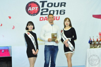Heinanen is First APT Daegu Champion.