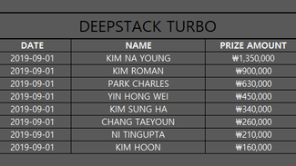 DEEPSTACK TURBO Sep.1, 19