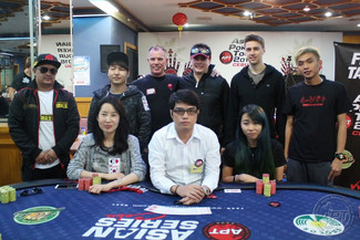 Korea's John Kim leads the Final 8 of the Main Event