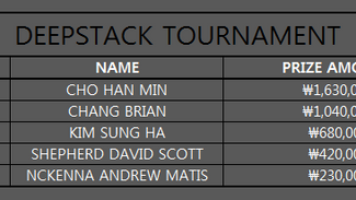 DEEPSTACK TOURNAMENT