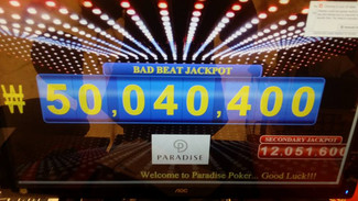Our jackpot has exceeded 50,000,000won!!