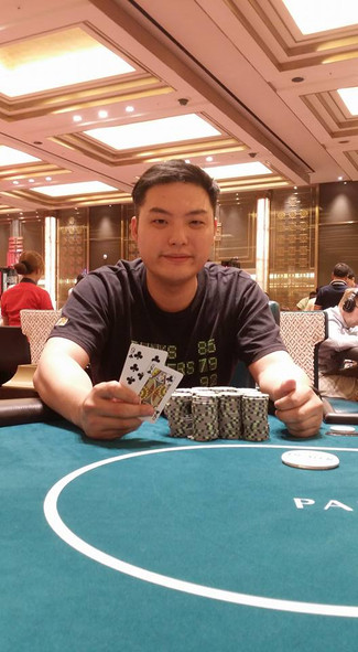 Winner of our Rebuy and addon tournament