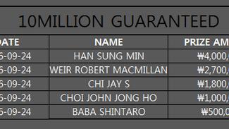 10 MILLION GUARANTEED