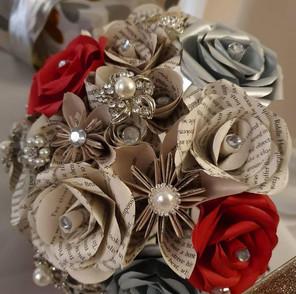 Bling bridal bouquet