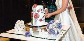 Scottish theme wedding flowers