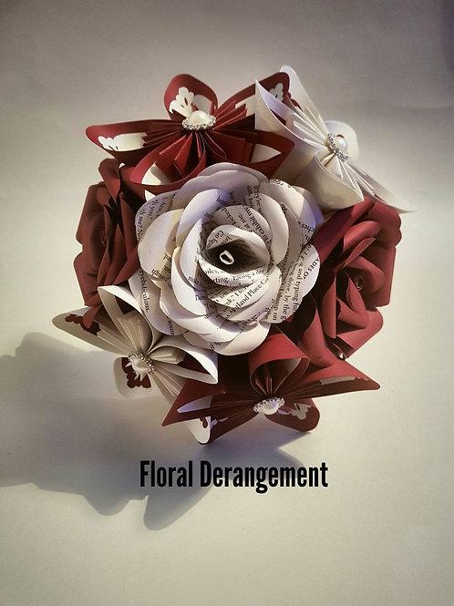 Harper - Bridal Bouquet, Paper Flowers, Custom Wedding Flowers, Bespoke Brida;