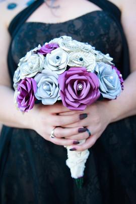 Bespoke gothic bouquet