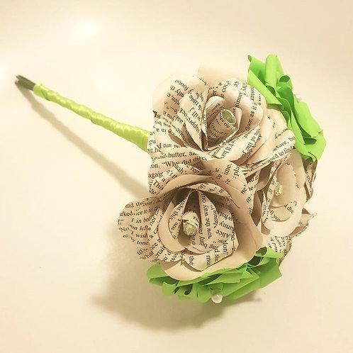 Hannah - Book bridesmaid bouquet, Wedding flowers