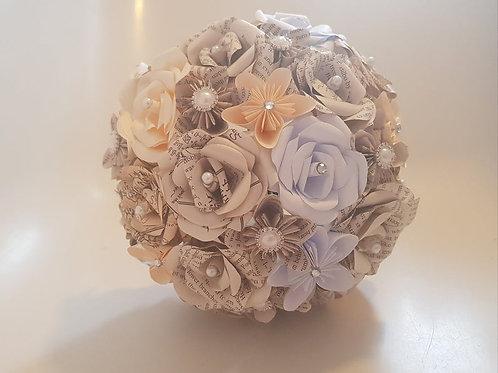 The Hobbit bridal bouquet, Geek wedding flowers