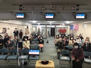横浜オンヌリ教会にお邪魔しました。