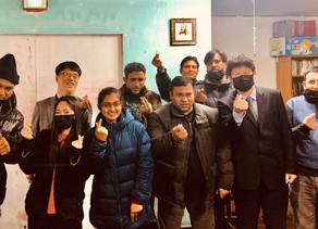 평택 아가페국제교회 방문 (한국)