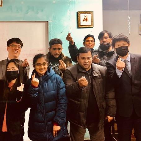 ピョンテクアガペ国際教会訪問(韓国)