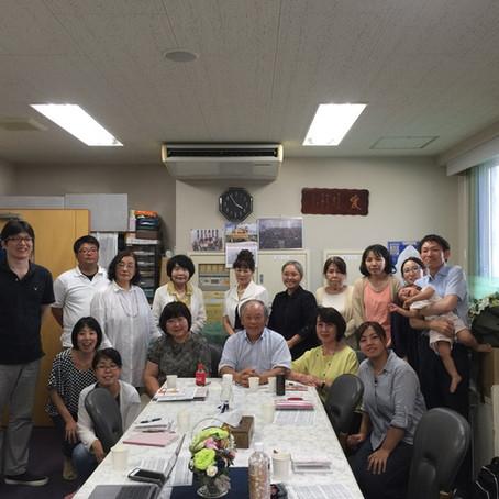 2018/8/1 神戸キリスト栄光教会集会報告