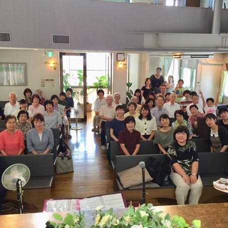 치요다 후쿠인 교카이 (일본/오사카)의 여러분도 계속해서 기도와 응원을 보내 주십니다!!