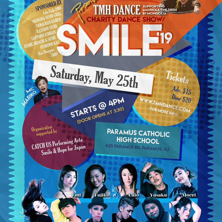 The SMILE, Charity Dance Show in NY, support 'Mongol Kids' Home'!!