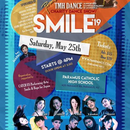 NYのチャリティダンスショー、スマイル「モンゴルキッズの家」を支援!