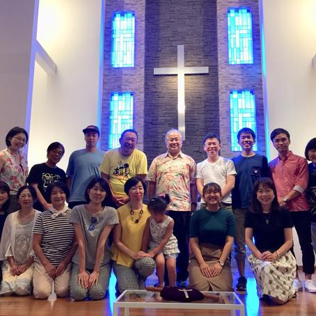 2018/8/4 金沢グレイスチャペルでの集会