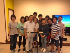 가을 캠페인 보고 – 가코가와 침례교회 방문