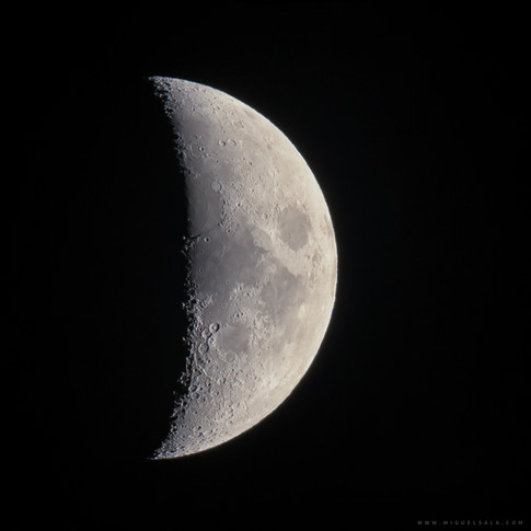 Luna creciente 39,9%