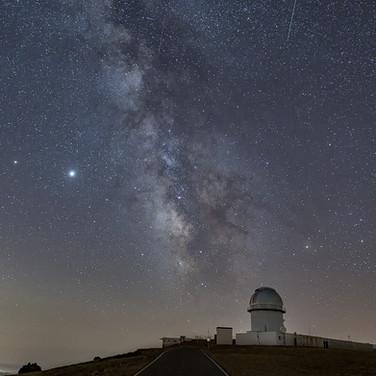 Camino de estrellas al cielo