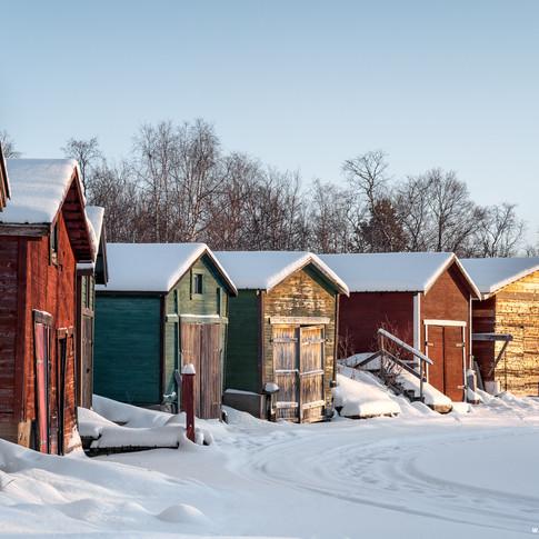 Invierno en Suecia