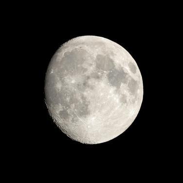 Luna creciente 91%