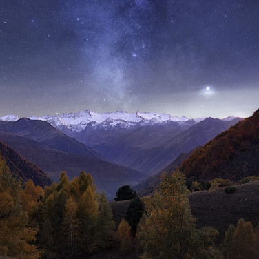 MilkyWay over The Pyrennes