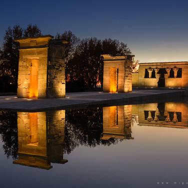 Debod Temple (Madrid, Spain)