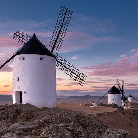 Windmills in Consuegra (Toledo, Spain)