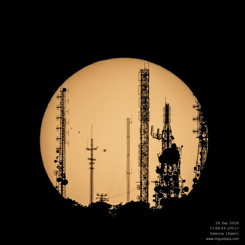 The Sun and telecomunications